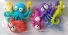 VAT Free Dress It Up Creatures of the Sea 5 Buttons New Crafting Knit Sewing New