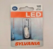 Sylvania LED Blue 168B - 1 License Plate Tag Light Bulb 194 2825 - SHIPS FREE