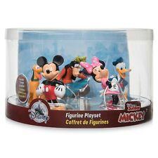 Disney Mickey Mouse Figurine Figures Figure Set of 5 Playset Minnie Pluto