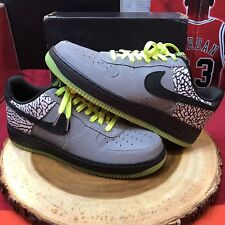 Nike Air Force One Premium Low DJ Clark Kent Black Cement 329423 001 Jordan III