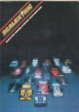Scalextric Eléctrica Slot Car Racing 20th edición 1979 catálogo de gama de productos