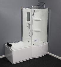 Whirlpool Tub and Shower  with.Air Bubble,Left or Right corner.6 Year Warranty.