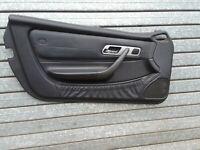 MERCEDES R170 SLK Door Caed Left Passenger N/S Black Leather A1707204170 2002