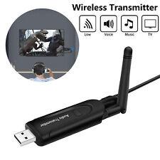 Wireless Bluetooth Transmitter A2DP 3.5mm Audio Music Adapter for Headset TV PC