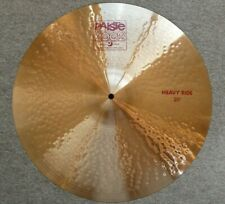 "Paiste 2002 Red Label 20"" Heavy Ride - Excellent Condition"