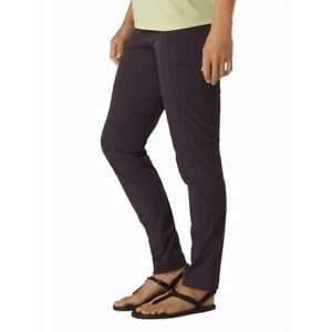 Arcteryx SABRIA hiking PANT WOMEN'S in Cobalt Moon Purple Size 10