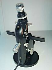 Working Carl Zeiss Lensometer Lensmeter Vertometer Focimeter With Light Optometry