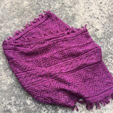 "JEANSWEST ""Plum Purple"" Beautiful Women's Fashion Infinity Scarf Cowl Wrap"