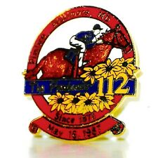 1987 - 112th Preakness Stakes Official Lapel Pin - MINT