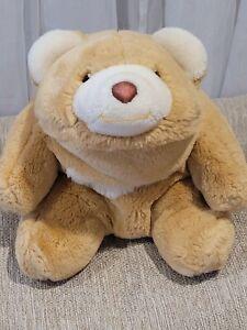 "Vintage Gund Snuffles Bear Honey Light Tan Plush 10"" 1980"