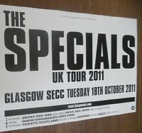 The Specials - live music show Oct 2011 promotional tour concert gig poster