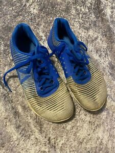 Mens REEBOK Crossfit ROPE PRO Blue Trainers Shoes in Size UK 9 - Used Condition