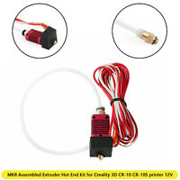MK8 Assembled Extruder Hot End Kit 0.4mm Nozzle 12V fit for Creality 3D CR10 10S