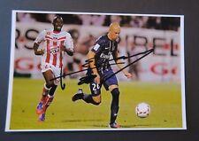 Football Christophe JALLET autographe original hand signed PSG