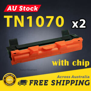 2x Toner Cartridge TN1070 TN-1070 for Brother DCP1510 HL1110 HL1210W MFC1810