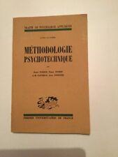 TRAITE DE PSYCHOLOGIE APPLIQUEE