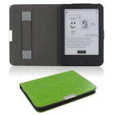 Flip Tasche für Tolino Shine 2 HD Leder-Imitat Schutzhülle Case Etui grün Cover