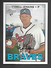 TYRELL JENKINS 2016 TOPPS HERITAGE SP #634 GUM STAINED FREE COMBINED S/H