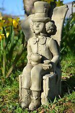 Alice's Adventures in Wonderland Stone Garden Ornament (Mad Hatter)