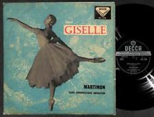 "Rare Adam Giselle Paris Conservatoire Orchestra Ballerina SXL 2128 12"" ELP2250"