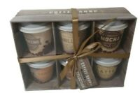 Coffee Mug Collections 6 Cups  Assorted Flavour With Creamer Mocha Gift Pack