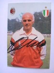 Autogramm Arrigo Sacchi (AC Mailand) Milan