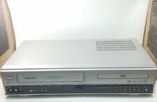 VHS DVD Daewoo Combo DVD/MP3 6-Head VHS Player (DV6T844B) Tested No Remote