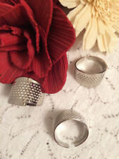 Collectable Silver Sewing Thimbles