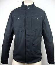 G-Star Raw Radar Zip OVERSHIRT Wool Jacket Veste Laine Black taille L neuf avec D.