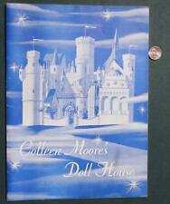 1949 Chicago,Illinois Colleen Moore's Doll House Souvenir Pictorial Program-RARE