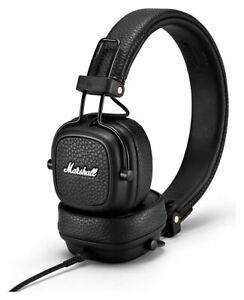 Foldable Adjustable Noise Cancellation Headphones Marshall Major 3 On Ear Brown