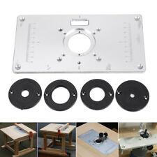 Piastra di montaggio piastra inserto in alluminio per fresa da fresatrice nuovo
