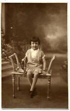 photo Ancienne Portrait Fillette
