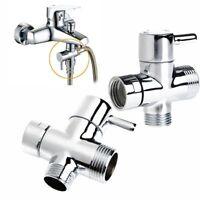 T-Adapter 3 Möglichkeiten Umsteller Ventil Toilette Bidet Sprühgerät Dusche Kopf