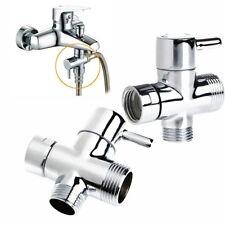 Shower HeadT-adapter 3 Ways Diverter Valve For Bath Toilet Bidet Sprayer