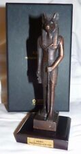 STATUE SCULPTURE BRONZE ANUBIS 1200 AV JC EGYPTE PYRAMIDE DIEU GUIDE DEFUNTS