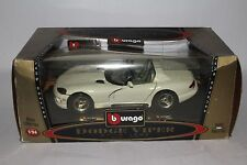 BURAGO DODGE VIPER RT / 10 BIJOUX COLLECTION 1/24 SCALE MODEL CAR MADE IN ITALY