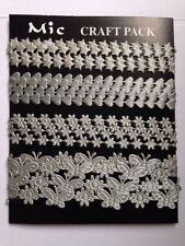 Tessuti e stoffe grigio raso per hobby creativi