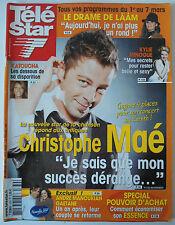 TELE STAR du 25/02/2008; Christophe Maé/ Le Drame de Lââm/ Kylie Minogue