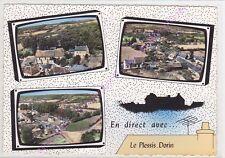 CPSM 41170 LE PLESSIS DORIN Multivues 3 vues aériennes Edt LAPIE ca1965