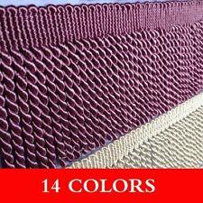 11M Twisted Rope Tassel Trim Bullion Fringe Sofa Bedding Braided Upholstery DIY