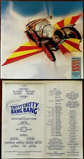 More details for chitty chitty bang bang theatre brochure + special automation working model 2005