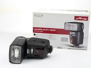 Metz Mecablitz 64 AF-1 Digital Flash for Canon E-TTL, E-TTL II, Remote E-TTL