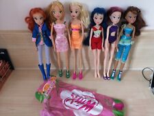 Winx club dolls rare collectable bundle accessories Christmas gift flora layla