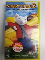 Stuart Little 2 (VHS, 2002, Pal)