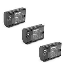 3x KAMERA Akku INTENSILO 2000mAh für Canon Batteriegriff BG-E6