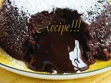☆Applebee's☆Triple Chocolate Molton Meltdown Cake RECIPE☆Will Blow U'r Mind!