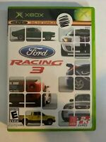 FORD RACING 3 - XBOX - COMPLETE WITH MANUAL - FREE S/H - (T9)