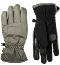 NEW Isotoner Signature Men's Touchscreen Gloves with SmartDri Tech - Gray [Size