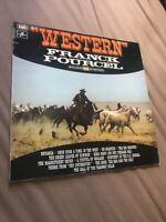 Franck Pourcel Western Vinyl Record 33 1972
